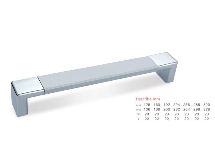 Furniture Accessories Cabinet Drawer Kitchen Pull Handle Aluminium Pull Handle 64, 96, 128mm