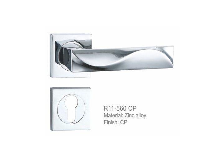 Cost Effective Exterior Door Handle Sets , Door Knob Hardware Multidirectional Adjustment Function
