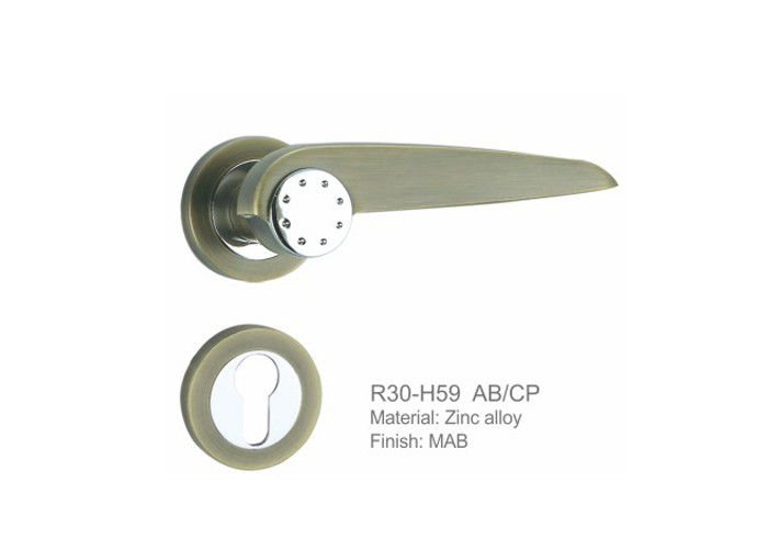 House Residential Entry Door Hardware Popular Classic Design High Performance